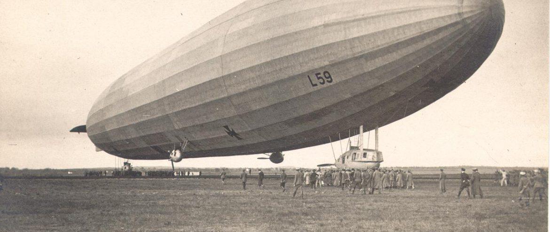 Rekordfahrt nach Süden – Luftschiff L 59 auf dem Weg nach Afrika