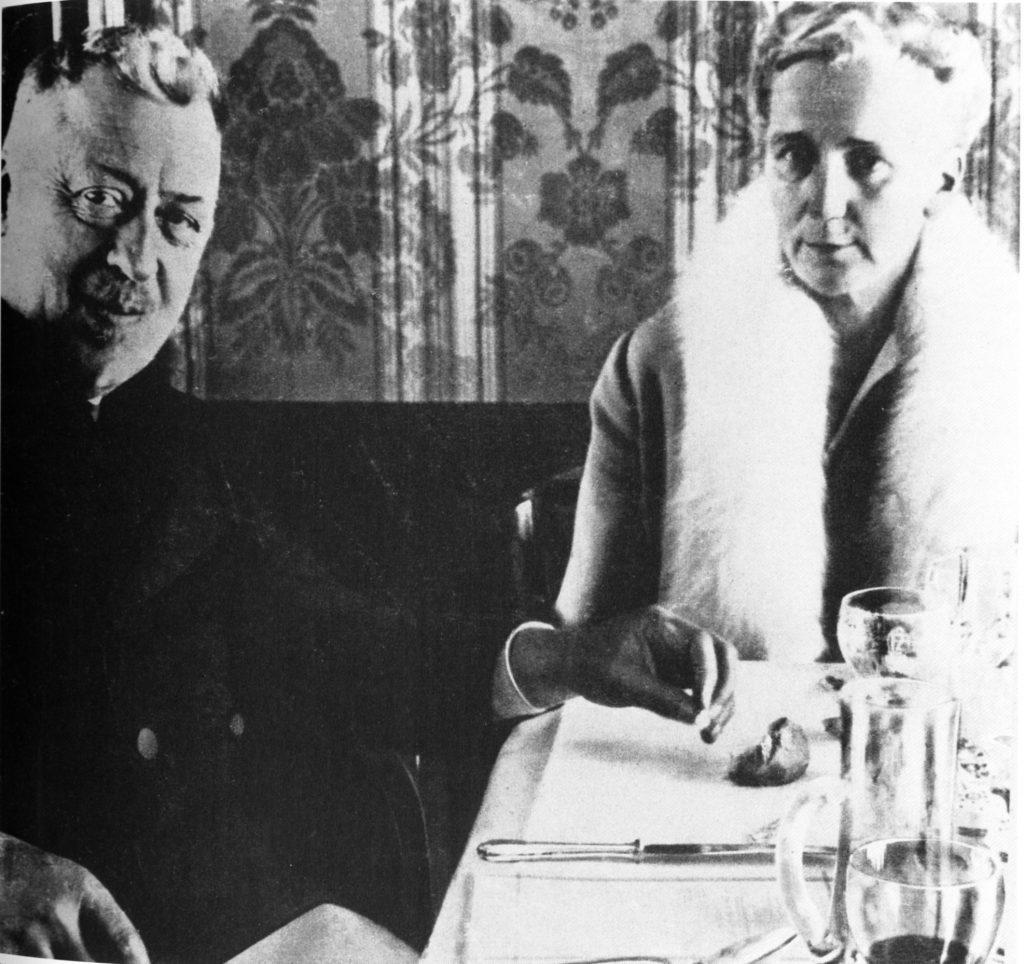 Hugo Eckener und Hella von Zeppelin
