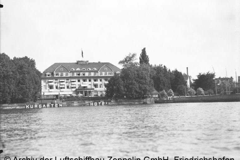 Kurgarten Hotel © Archiv der Luftschiffbau Zeppelin GmbH