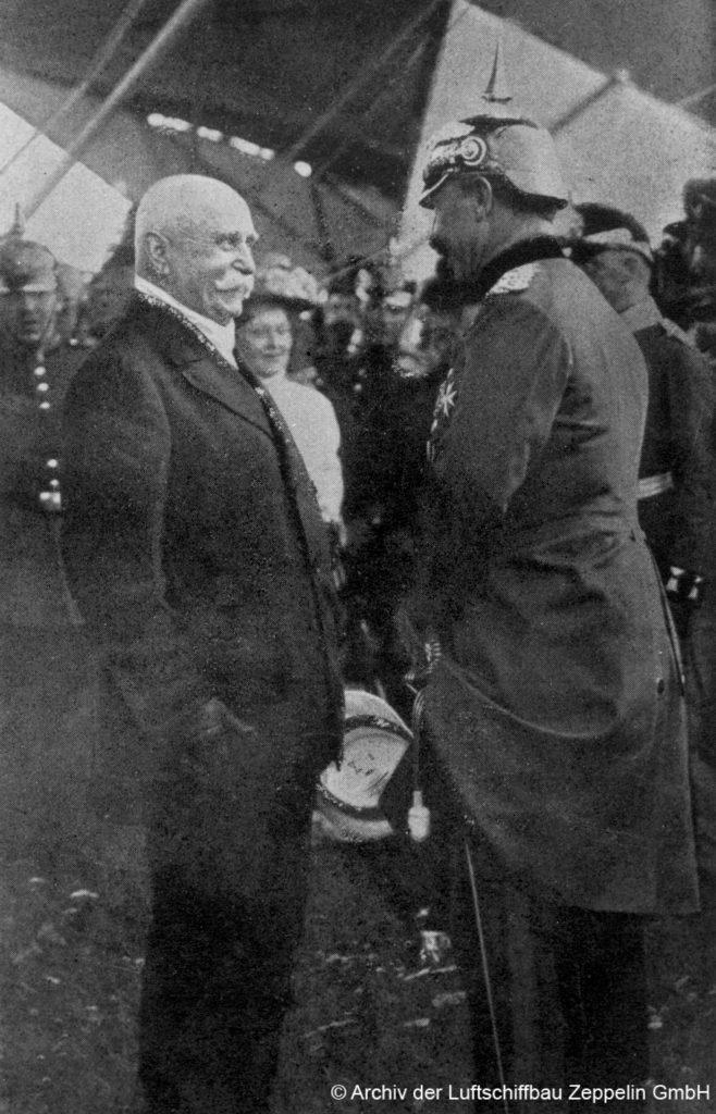 Graf Zeppelin und der Kaiser
