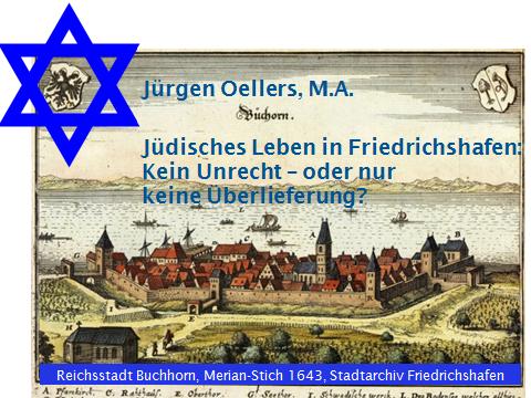 Jüdisches Leben in Friedrichshafen: Kein Unrecht – oder nur keine Überlieferung?