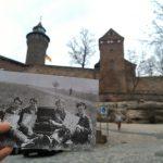 Vor der Kaiserburg in Nürnberg