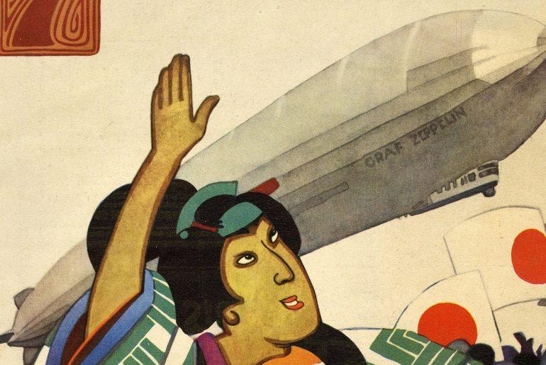 Illustrierte Die Woche mit japanischer Titelillustration