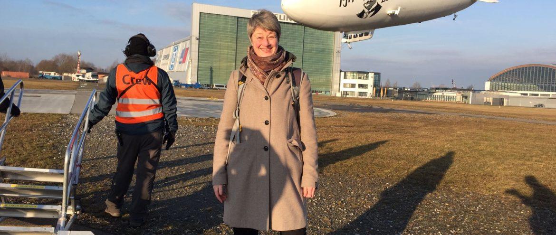 Ein halbes Leben für den Luftschiffbau