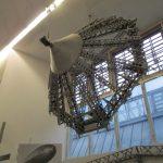 An der Bugspitze von LZ 127 im Deutschen Museum in München