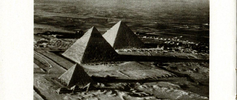 """Fahrt nach Ägypten – Die zweite Orientfahrt des LZ 127 """"Graf Zeppelin"""""""
