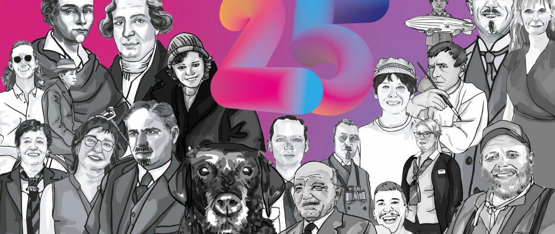 25 Jahre Zeppelin Museum – 25 Köpfe