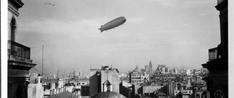 Im Zeppelin nach Rio