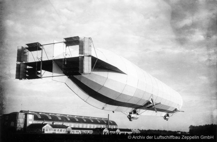 Luftschiff-Rekord!